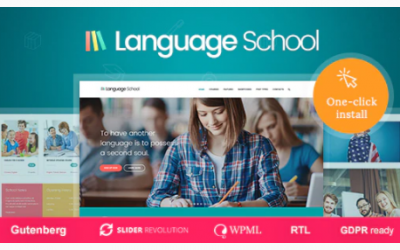You are downloading Language School - Courses & Learning Management System Education WordPress Theme Nulled whose current version has been