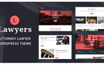 You are downloading Lawyers - Responsive Business Wordpress Theme Nulled whose current version has been getting more updates nowadays, so, please