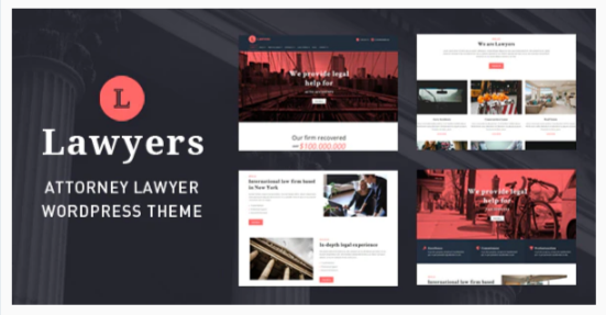 Download Lawyers – Responsive Business WordPress Theme Nulled