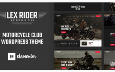 You are downloading LexRider - Motorcycle Club WordPress Theme Nulled whose current version has been getting more updates nowadays, so, please