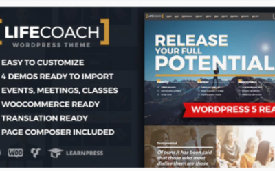 You are downloading Life Coach WordPress Theme Nulled whose current version has been getting more updates nowadays, so, please keep visiting for getting