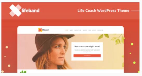 Download Lifeband – Life Coach WordPress Theme Nulled
