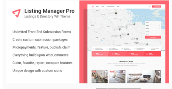 Download Listing Manager Pro – Directory Theme for WooCommerce Nulled