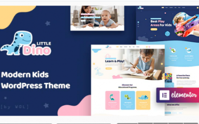 You are downloading Littledino - Modern Kids WordPress Theme Nulled whose current version has been getting more updates nowadays, so, please keep