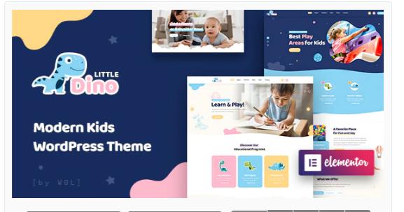 Download Littledino – Modern Kids WordPress Theme Nulled