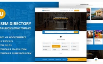 You are downloading Local Directory WordPress Theme - Wisem Theme whose current version has been getting more updates nowadays, so, please