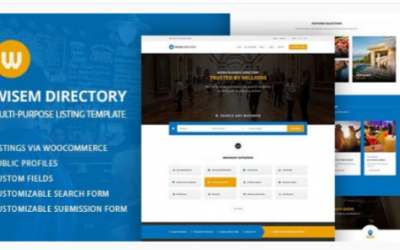 You are downloading Local Directory WordPress Theme - Wisem Nulled whose current version has been getting more updates nowadays, so, please