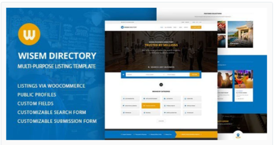 Download Local Directory WordPress Theme – Wisem Nulled
