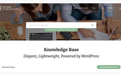 Download Lore - Elegant Knowledge Base WordPress Theme Nulled