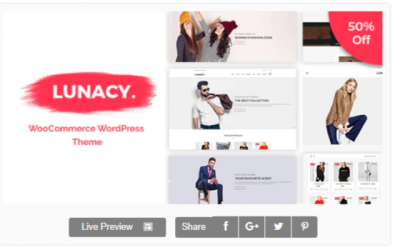You are downloading Lunacy - WooCommerce WordPress Theme Nulled whose current version has been getting more updates nowadays, so, please keep visiting