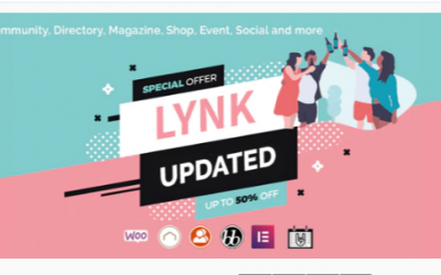 You are downloading Lynk - Social Networking and Community WordPress Theme Nulled whose current version has been getting more updates nowadays
