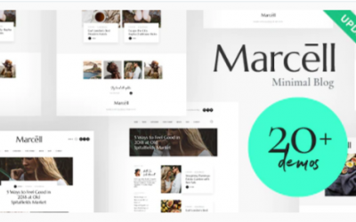 You are downloading Marcell | 20+ Layouts Multi-Concept Personal Blog & Magazine WordPress Theme Nulled whose current version has been getting more updates
