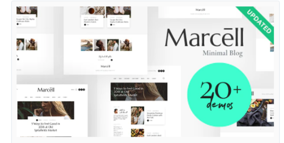 Download Marcell | 20+ Layouts Multi-Concept Personal Blog & Magazine WordPress Theme Nulled