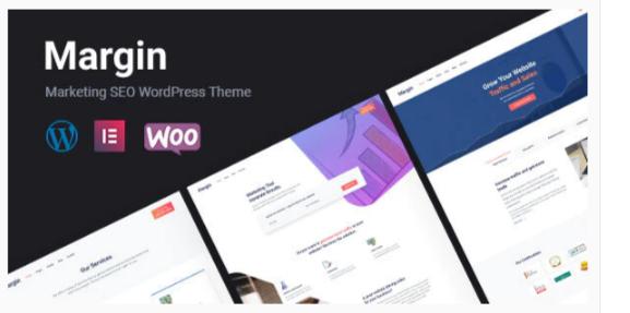Download Margin | Elementor Marketing & SEO WordPress Theme Nulled