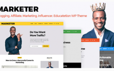 You are downloading Marketer - Marketing, Blogger & Educate WordPress Theme Nulled whose current version has been getting more updates nowadays, so, please