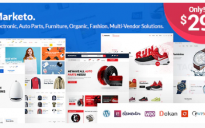 You are downloading Marketo - eCommerce & Multivendor Marketplace Woocommerce WordPress Theme Nulled whose current version has been getting more updates