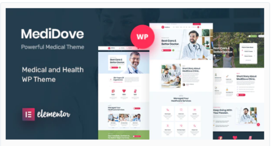 Download MediDove | Health and Medical WordPress Theme + RTL Nulled