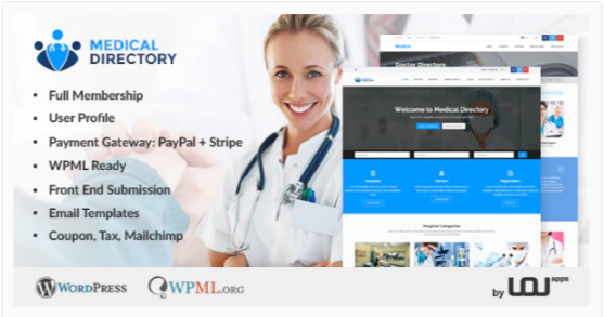 Download Medical Directory – Hospitals & Doctors Listing Theme Nulled