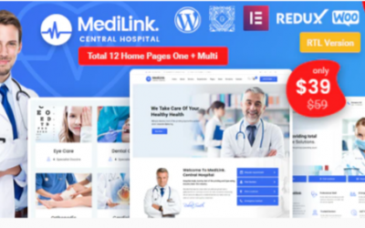 You are downloading Medilink - Health & Medical WordPress Theme Nulled whose current version has been getting more updates nowadays, so, please