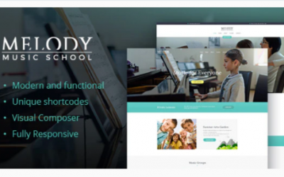 You are downloading Melody - School of Arts & Music School WordPress Theme Nulled whose current version has been getting more updates nowadays, so, please