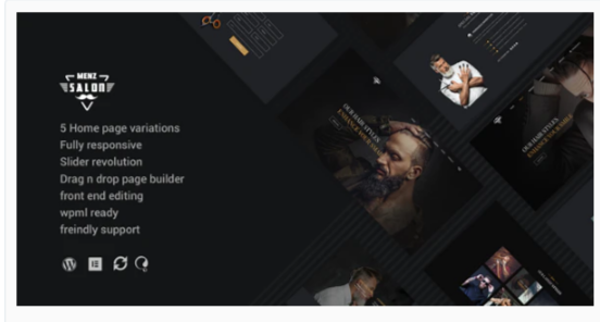 Download MenzSalon – Barber & Salon WordPress Theme Nulled