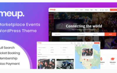 You are downloading Meup - Marketplace Events WordPress Theme Nulled whose current version has been getting more updates nowadays, so, pleas