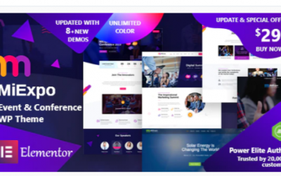 You are downloading MiExpo | Event Conference Elementor WordPress Theme Nulled whose current version has been getting more updates nowadays,