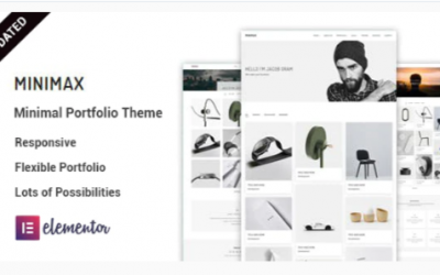 You are downloading Minimax - Minimal portfolio WordPress Theme Nulled whose current version has been getting more updates nowadays, so, please
