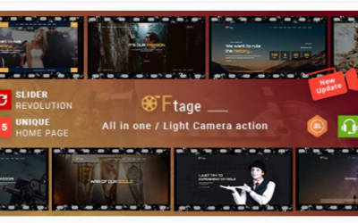 You are downloading Movie Production & Film Studio WordPress Theme - Ftage Nulled whose current version has been getting more updates nowadays,