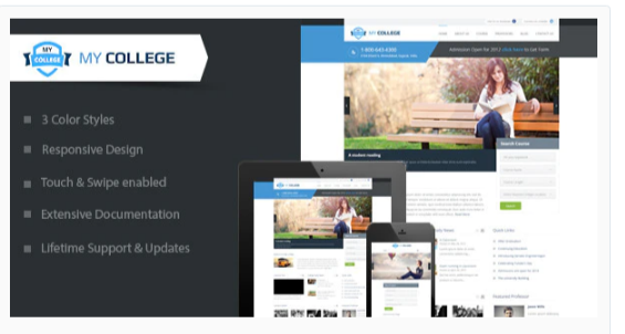 Download My College – Premium Education WordPress Theme Nulled
