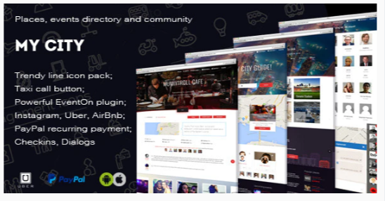 Download MyCity – Geolocation directory and events guide Nulled