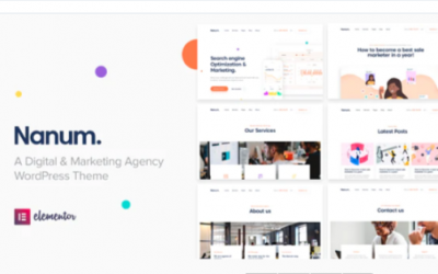 You are downloading Nanum — Digital & Marketing Agency WordPress Theme Nulled whose current version has been getting more updates nowadays,