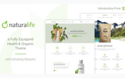 You are downloading NaturaLife | Health & Organic WordPress Theme Nulled whose current version has been getting more updates nowadays, so, please
