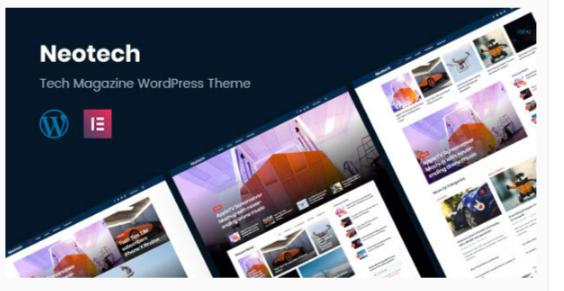 Download Neotech | Magazine Elementor WordPress Theme Nulled
