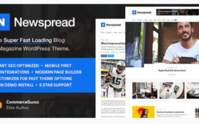 You are downloading Newspread - Magazine, Blog, Newspaper and Review WordPress Theme Nulled whose current version has been getting more updates