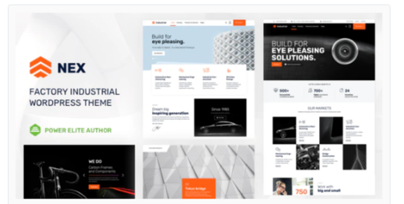 Download Nex – Factory Industrial Manufacturing Nulled