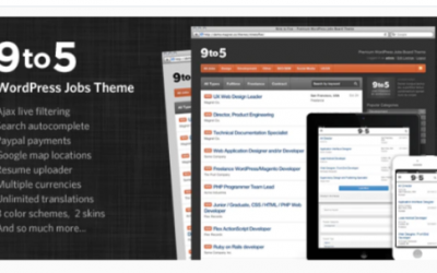 You are downloading Nine to Five - Premium WordPress Jobs Theme Nulled whose current version has been getting more updates nowadays, so, please