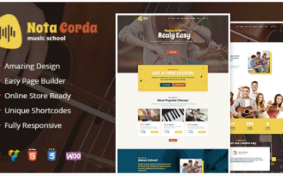 You are downloading NotaCorda - Music School and Musicians WordPress Theme Nulled whose current version has been getting more updates nowadays, so, please