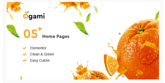 Download Ogami – Organic Store WordPress Theme Nulled