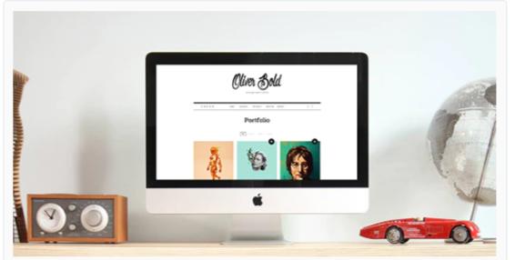 Download Oliver – Classic Portfolio WordPress Theme Nulled
