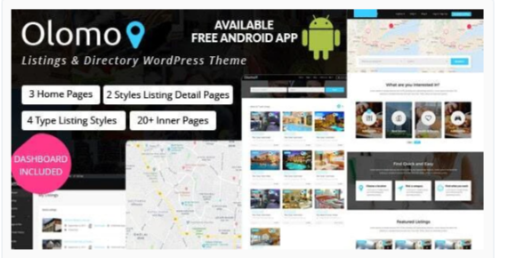 Download Olomo – Listings & Directory WordPress Theme Nulled