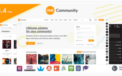 You are downloading OneCommunity - BuddyPress Nouveau Membership Theme Nulled whose current version has been getting more updates nowadays, so, please