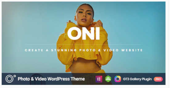 Download Oni – Photography Nulled