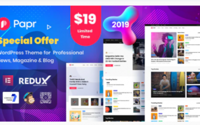 You are downloading Papr | News Magazine WordPress Theme Nulled whose current version has been getting more updates nowadays, so, please keep visiting
