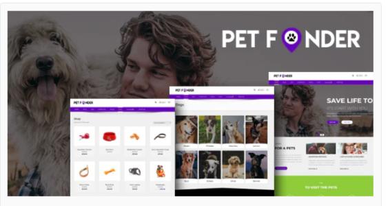 Download Petfinder – Pet Adoption WordPress CMS Theme Nulled