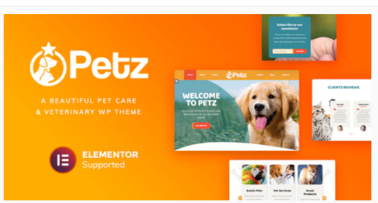 Download Petz – Pet Care & Veterinary Theme Nulled