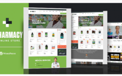 Download Pharmacy WooCommerce WordPress Responsive Theme Nulled