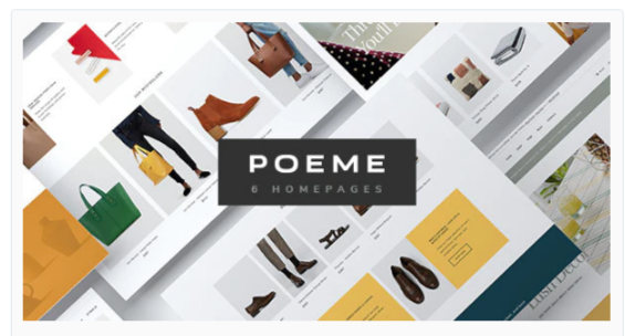 Download Poeme – Dynamic Multipurpose WooCommerce WordPress Theme Nulled