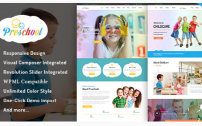 You are downloading Preschool - Nurseries Kindergarten and School WordPress Theme Nulled whose current version has been getting more updates nowadays,