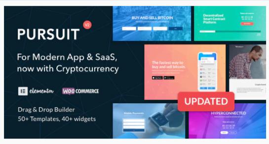 Download Pursuit – A Flexible App & Cloud Software Theme Nulled